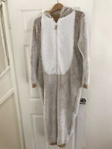 Teddy Bear M&S 'Onesie' (not by Gerber) Age 15-16 Hardly Worn No Tags