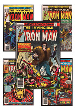 Invincible Iron Man #101-240 VF/NM 9.0+ 1977-1989 Marvel Comics Back Issues
