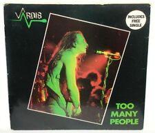 Vardis (2X)vinyl 45 rpm Too Many People w/Pic Sleeve~Logo Var 2