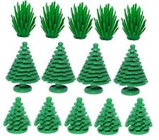 ☀️14 NEW LEGO GREENERY PLANT PIECE LOT Large & small Spruce PINE TREES & BUSHES