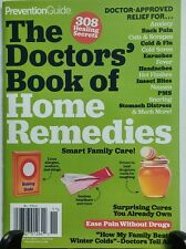 Prevention Guide The Doctors Book of Home Remedies Anxiety Flu FREE SHIPPING sb
