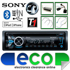 Vauxhall Corsa D Sony Car Stereo Radio CD MP3 USB Bluetooth Steering Control SS
