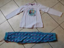 JOLI PYJAMA AUTOMNE HIVER 2 PIECES FILLE TAILLE 10 ANS DISNEY ORCHESTRA  TBE
