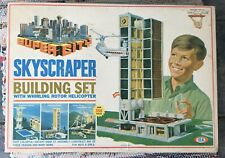 Vintage Super City Skyscraper Building Set by Ideal from 1968