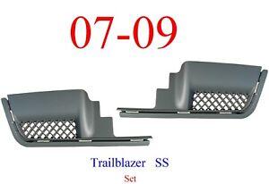 06 09 Trailblazer SS Rear Step Pad Set In Bumper GM1182135, GM1183135