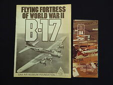 Prospekt EAA Air Museum Foundation, Flying Fortress of World War II B-17, 1980
