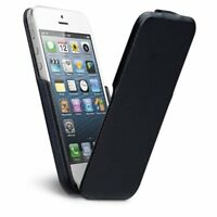 Negro Case-Mate Funda libro para Apple iPhone 5 / 5s / SE Serie Signature