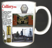 DONISTHORPE COLLIERY COAL MINE MUG LIMITED EDITION GIFT MINERS LEICESTERSHIRE