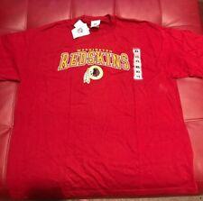 Washington Redskins T Shirt Men's XL Vintage 90s Red NFL Football New W/Tags F4