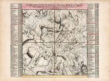 Old Vintage Decorative Stars map Great Bear Andromeda Doppelmayr ca. 1742