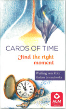 CARDS OF TIME FIND THE RIGHT MOMENT CARDS TAROT DECK NUMEROLOGY for cat resQ