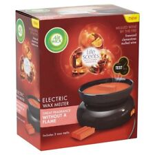 Air Wick Wax Melt Plug In Electric Burner With 2 Fantastic Melts Mulled Wine