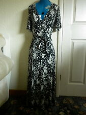 MARKS & SPENCER LONG FITTED SLINKY DRESS  ALL SEASONS BOHO COCTAIL PARTY 10/12