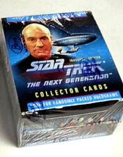 Star Trek:Next Generation Inaugural Sealed Trading Card Box- Impel
