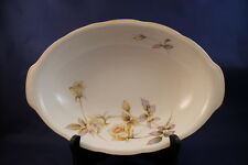 "Oxford Rose Ucagco Japan 10¾"" Oval Serving Dish China Yellow Pink Roses Vintage"