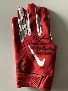 Ke'Shawn Vaughn Game Used 2020 Buccaneers Glove Fanatics Authentic Inscribed