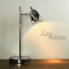 Retro Lámpara de mesa cromado Halógeno estudio para oficina Escritorio