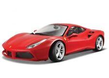 Ferrari 488 GTB rouge 1/43 Burago