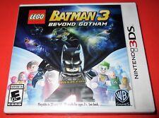 LEGO Batman 3: Beyond Gotham Nintendo 3DS *Factory Sealed! *Free Shipping!