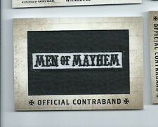 2014 Sons of Anarchy seasons 1-3 contraband patch RP-01