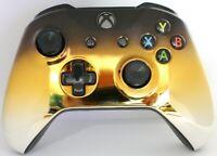 Microsoft Xbox One/S/X Bluetooth Modded Controller w/Chrome Black/Gold/Silver