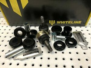 FRONT LOWER CONTROL ARM BALL JOINTS & WHITELINE BUSH KIT CALAIS HSV VX VY SS