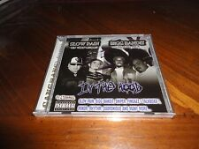 Chicano Rap CD Slow Pain & Bigg Bandit - In The Hood - SNIPER Lil Minor Rhythm