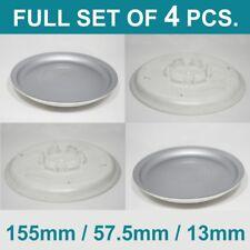 Alloy wheel center caps centre rim plastic 4x hub cap audi vw 155 / 57,5 / 13 mm