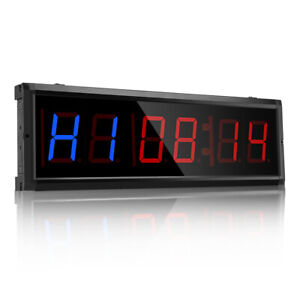3 inch LED Digits Interval Timer Workout Timer for Home Boxing Training Workout