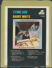 1 X 8 TRACK STEREO CARTRIDGE TAPE BARRY WHITE STONE GON