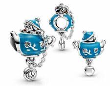 New Genuine Pandora Disney Alice in Wonderland Unbirthday Party Teapot Charm ALE