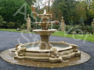 Water Feature Large Stone Garden Fountain from Ashover Stone