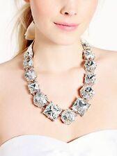 Kate Spade Large Crystal Necklace Bridal Wedding/ Evening $325