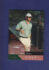 Lee Janzen 2003 UD Golf SP Authentic #94 Salute to Champions #1352/1998