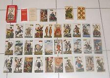 Tarocchi MINCHIATE FIORENTINE Tarot Tarock 97 cards Antiche minchiate Etruria