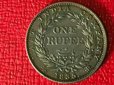 HIGH GRADE 1835 RS EAST INDIA COMPANY BRITISH ONE RUPEE SILVER COIN-SEP200
