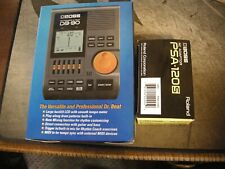 Boss DB-90 Metronome and PSA-120S AC Adaptor Org. Owner in Box's Exc. Cond.