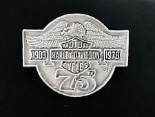 HARLEY-DAVIDSON MOTORCYCLE 75th ANNIVERSARY 1903-1978 BIKER JACKET VEST PIN
