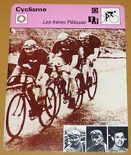 CYCLISME CICLISMO HENRI FRANCIS & CHARLES PELISSIER TOUR FRANCE PARIS-ROUBAIX