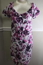 Jean Paul Gaultier for Target Rolled Collar Floral Dress Size M (DR900