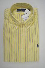 Polo Ralph Lauren Men's Striped Button-Down Regular Dress Shirts