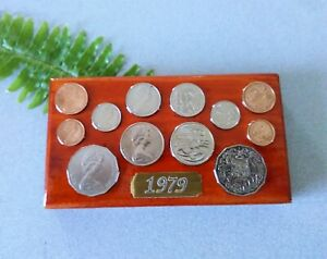 1979 Australian Decimal Coin Set (wall plaque) Great 42nd birthday gift for 2021