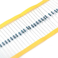 Useful 1/4w Watt 0.25W 10K ohm 10Kohm Metal Film Resistor 100000R 1% 100pcs