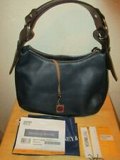 Dooney & Bourke Large Riley Hobo Midnight Blue w/Storage Bag and Tags