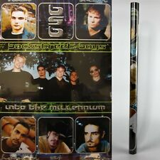 Sealed BACKSTREET BOYS Into The Millennium Poster 1999 Rolled New BSB Collage