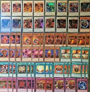 Yu-Gi-Oh! Verschiedene Decks - Custom Decks, Rotdrachen, Blauäugig, Dinosaurier