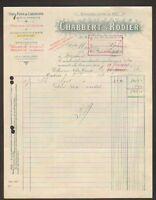 """CASTRES (81) DISTILLERIE de l'ANIS PERNOD """"CHABBERT & RODIER"""" en 1933"""
