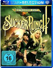 SUCKER PUNCH (Extended Cut) Blu-ray Disc NEU+OVP