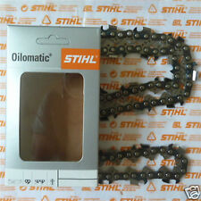 """18"""" 45cm véritable tronçonneuse stihl chaîne rapid micro semi chisel 3/8 1.6 66 suivi"""