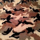 fleece  Camo fabric  2 yard piece anti -pill no sew blanket crafts material